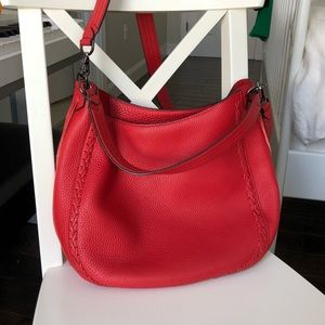 RebeccaMinkoff Unlined convertible Hobo whipstitch